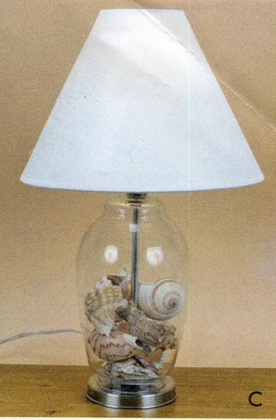 Fillable Craft Lamp