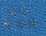 Dyed Blue Starfish