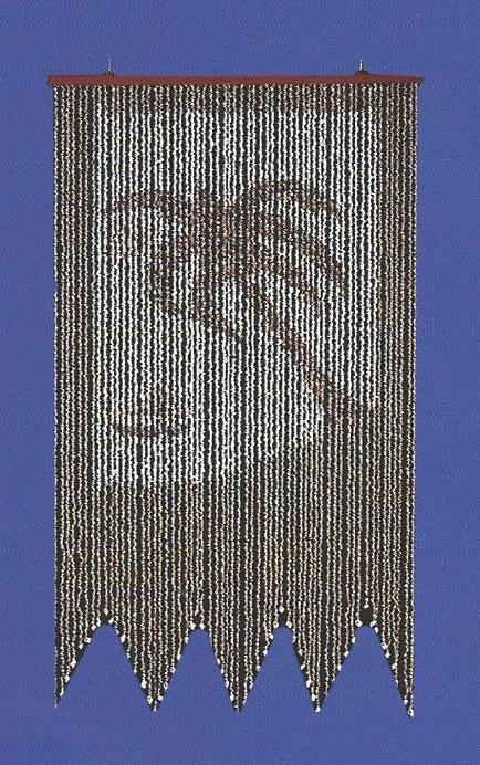 Palm Shell Curtain