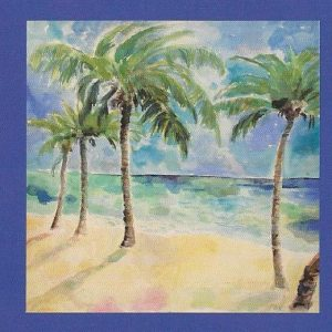 Palm Trees Canvas