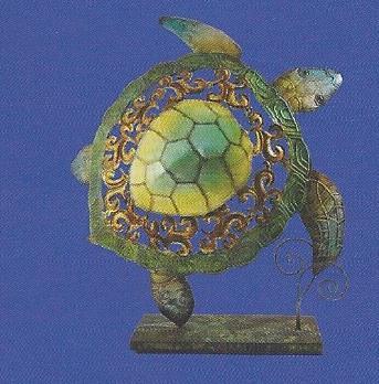 Sea Turtle on Stand