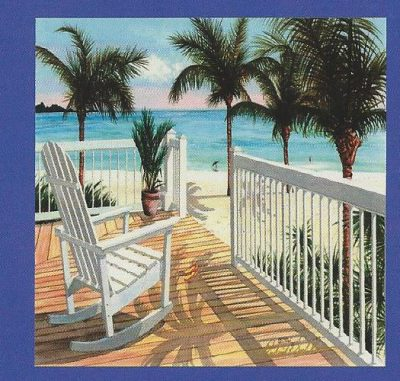 Tropical Vacation Canvas