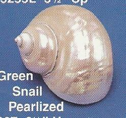 Green Snail Pearlized
